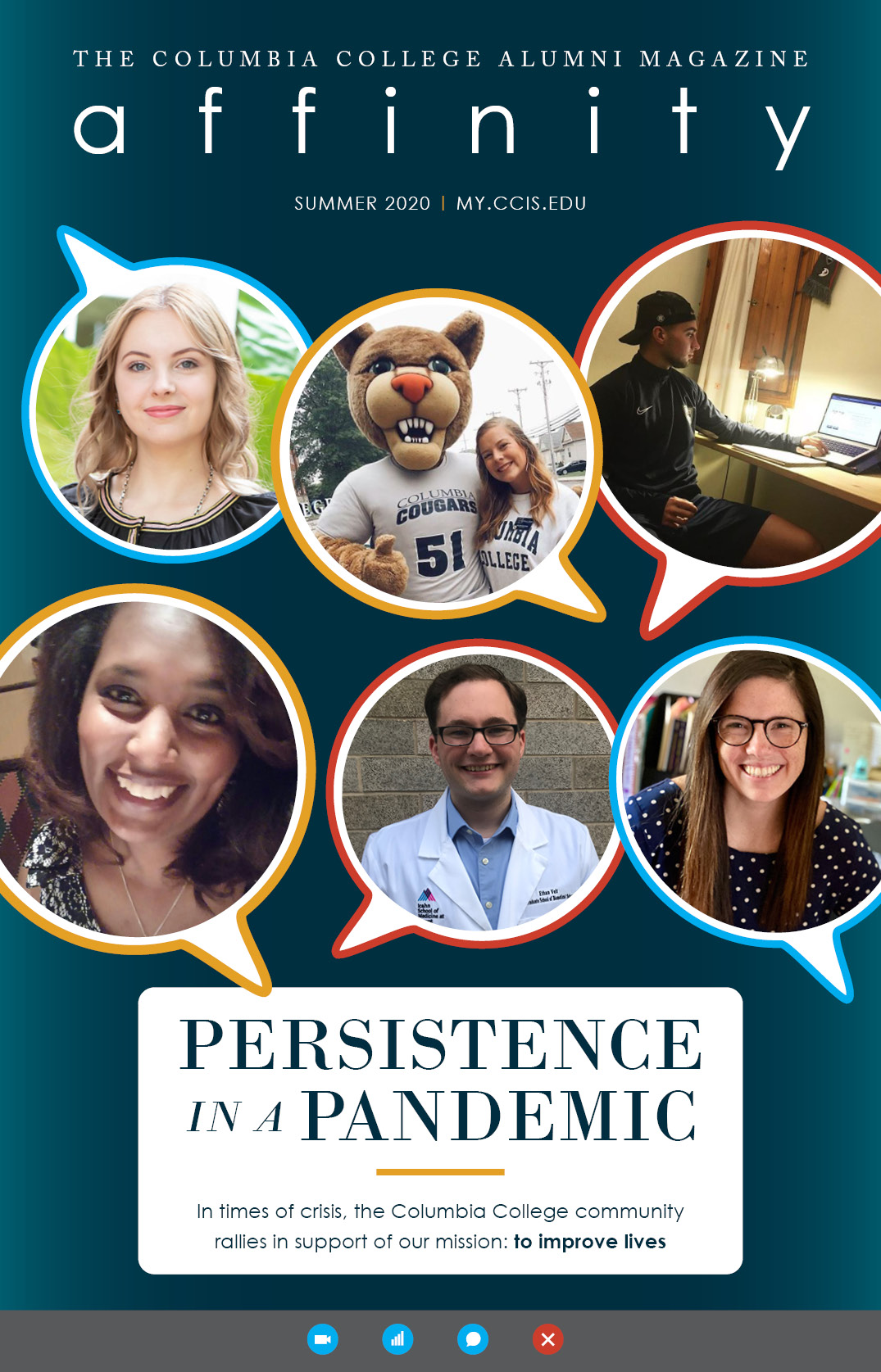 Summer 2020: Persistence in a Pandemic